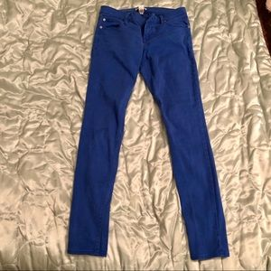 Bright Blue Stretchy Jeans